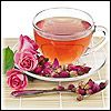Чай с пряностями и яичным желтком