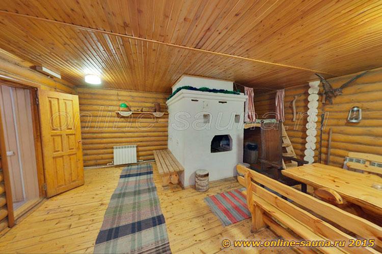 Русские бани на Шарташе, сауна